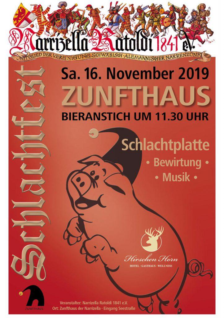 Zunfthaus - Schlachtfest - Narrizella Ratoldi